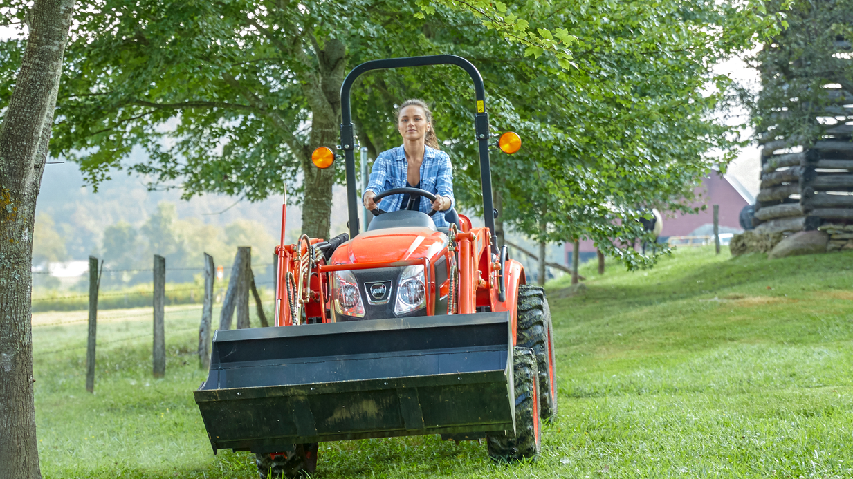 KIOTI Tractor Delivers Compact Durability and Versatility with All New CX Series