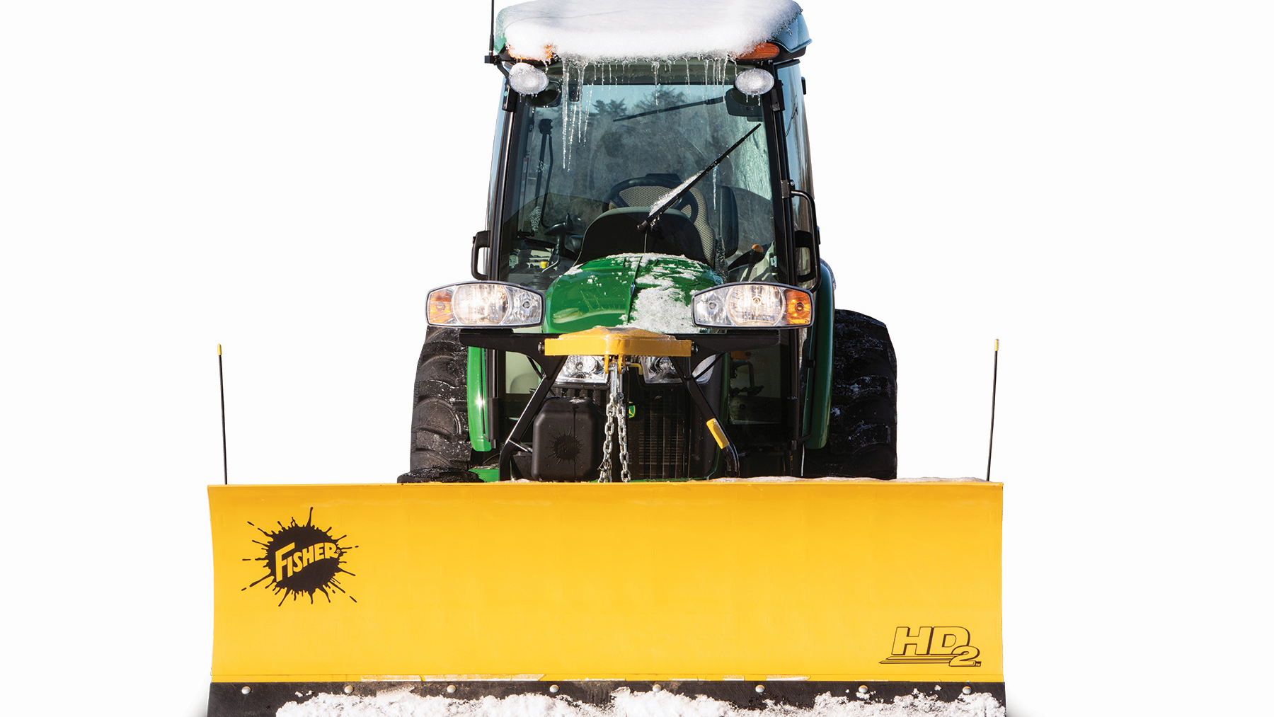 Fisher Engineering Minute Mount 2 Attachment Kit for Tractors