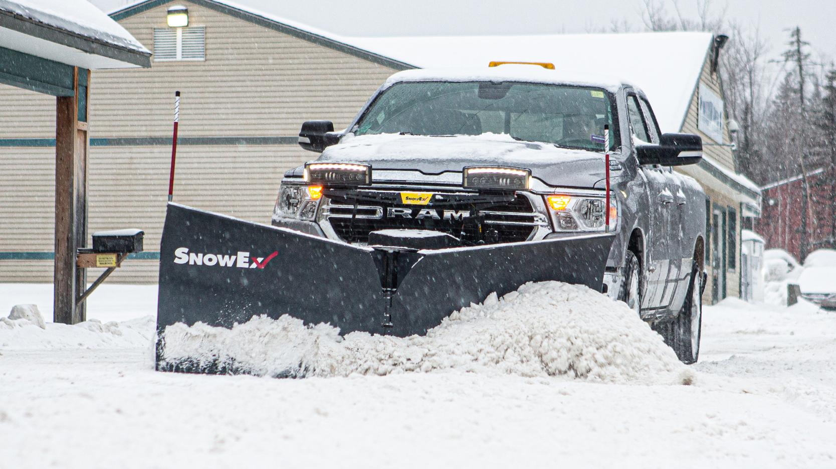 SnowEx RDV V-plow