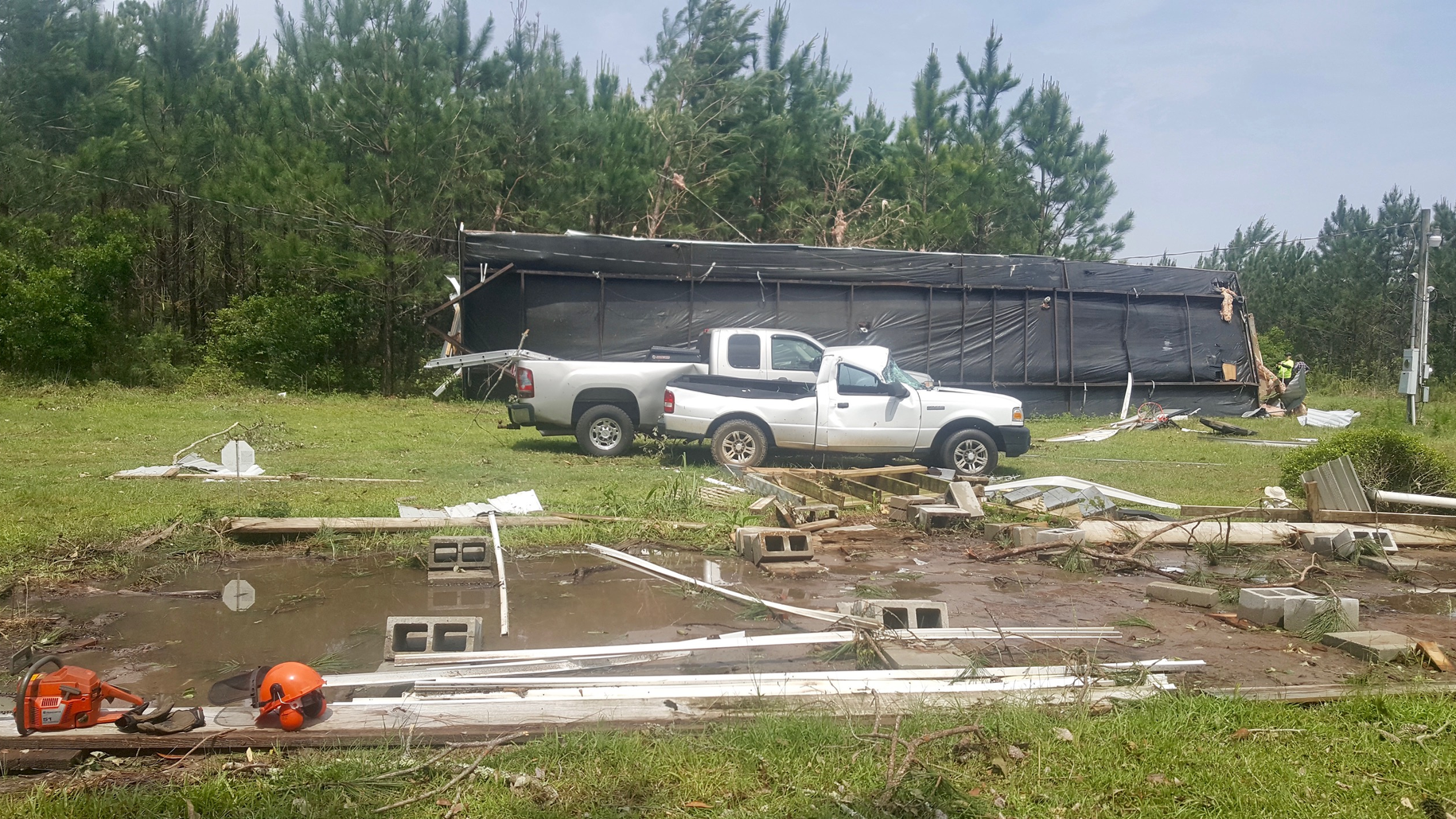 Rotary Volunteers Assist with Tornado Cleanup in Georgia