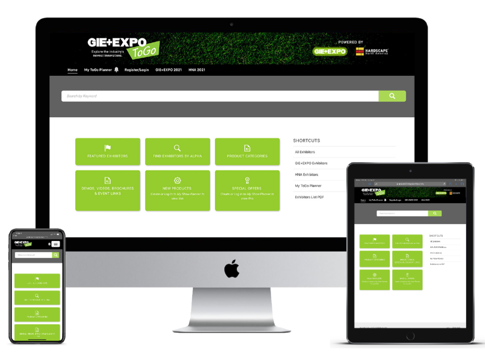 GIE+EXPO and Hardscape North America Launch Free Online Portal