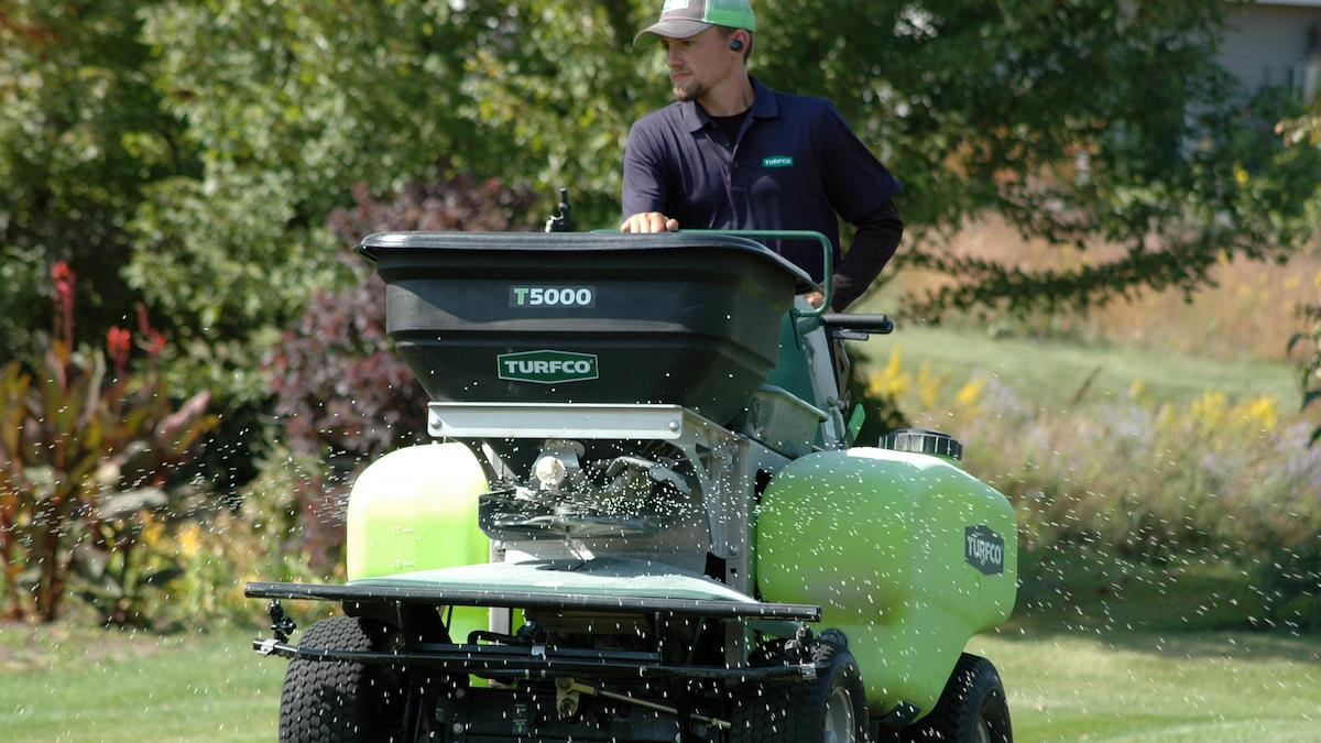 Turfco Unveils T5000 Spreader/Sprayer