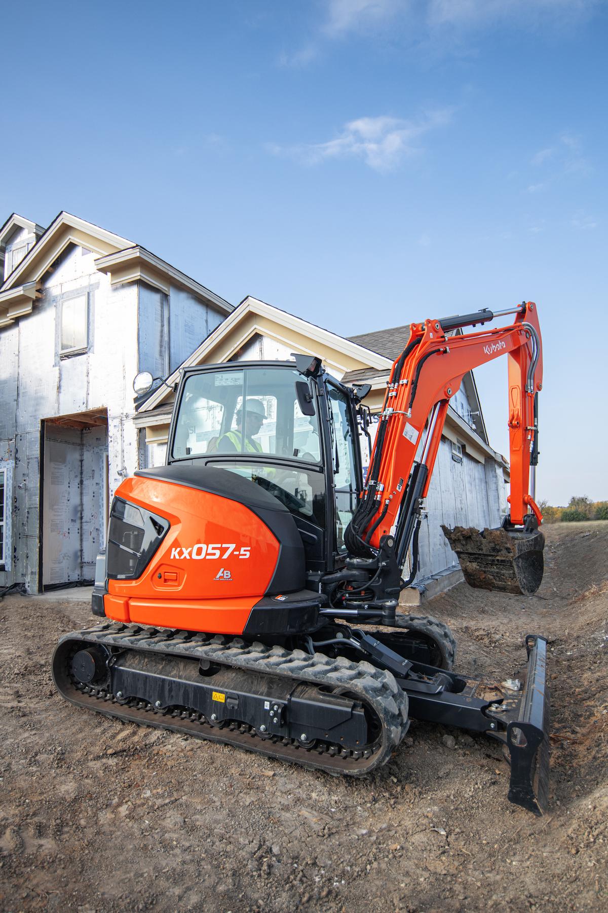 Kubota Introduces Next Gen Compact Excavators to Kick Off 2021 Releases
