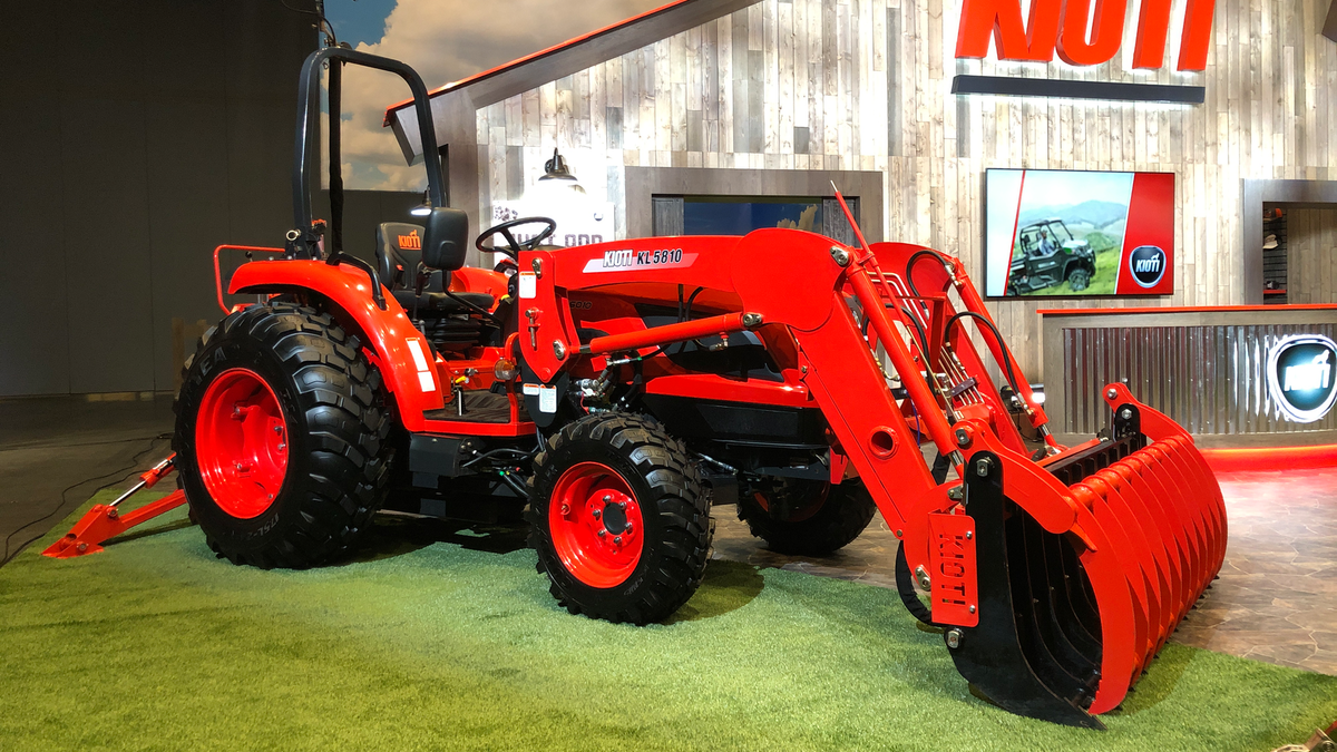 KIOTI Tractor Announces New 2021 Product Additions